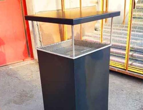 3.Cendrier public
